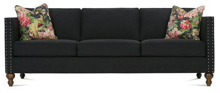 Mitchell Sofa with Turned Leg