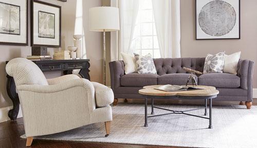 Stevens sofa in Mink