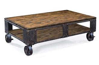 barrell coffee table