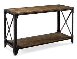 Barrell Sofa Table
