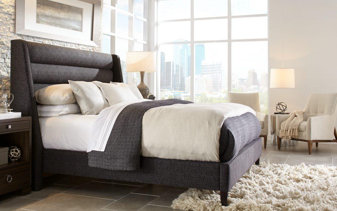 Modern bedroom interior in Atlanta