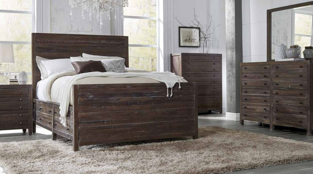 Achieving A Rustic Look In Your Bedroom Intaglia Home Collection
