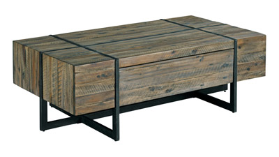 Modern Timber Coffee Table