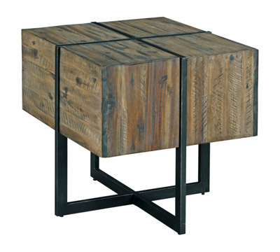 Modern Timber End Table