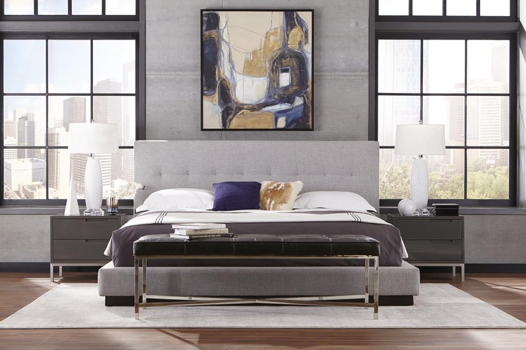 Modern bedroom in Atlanta GA