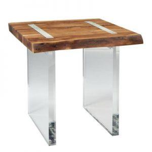 Lucite Leg End Table