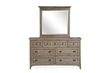 Claxton dresser and mirror