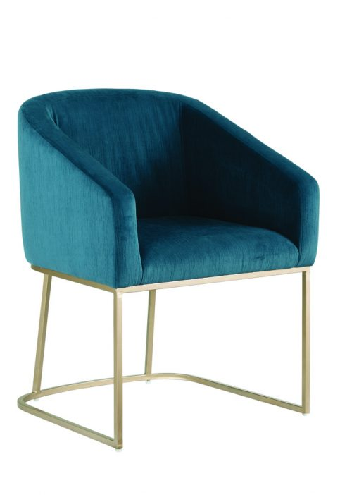 Ryan Teal Dining Chair