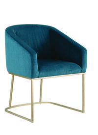 Ryan Teal Tub Chair Sm