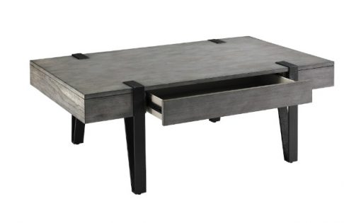 Foundry Coffee Table Drawer Open