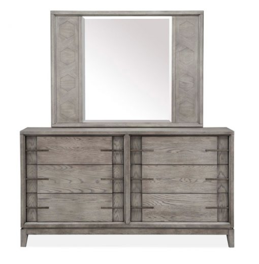 Kenso Dresser and Mirror
