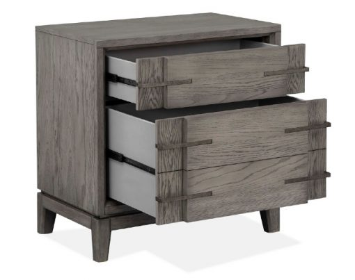 Kenso Nightstand drawer glides