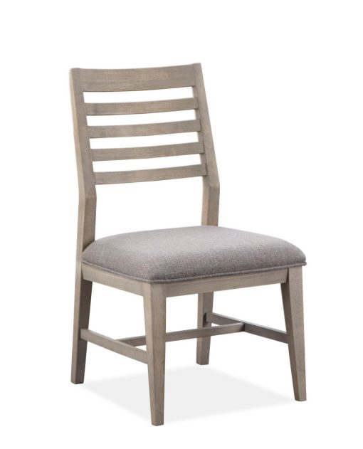 Beverly wood back side chair