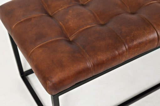 archive saddle bench leather