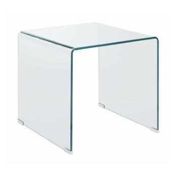 All Glass End Table Sm