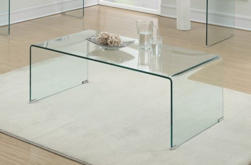All Glass Coffee Table Room
