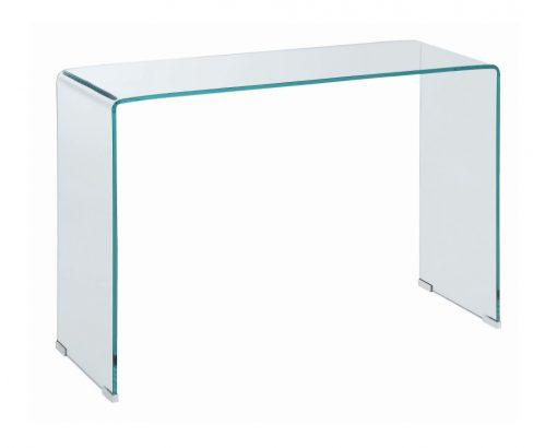 All Glass Sofa Table