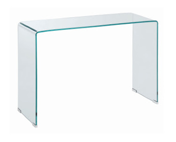 All Glass Sofa Table Sm