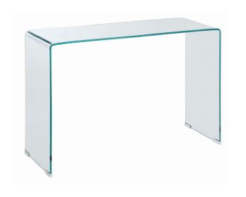 All Glass Sofa Table Sm