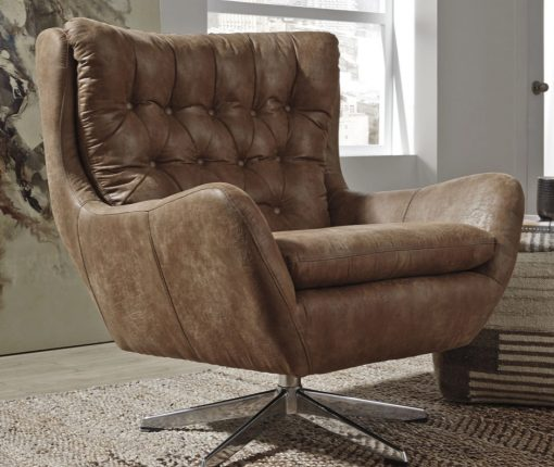 Rustic Mod Swivel Chair